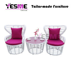 Modern Commercial Contract Patio Outdoor Garden Sofa Sets for Hotel Restaurant Desk Furniture