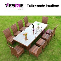 Garden Hotel Table and Chair Leisure Home Outdoor Furniture Rattan Sofa Set