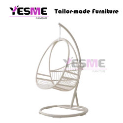 Modern Outdoor Garden Living Room Rocking Baskets Wicker Hanging Chair