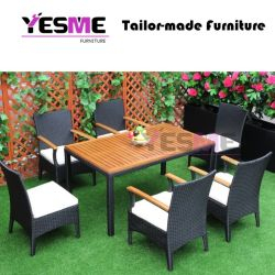 Outdoor Patio Rattan Furniture Wicker Dining Garden Set
