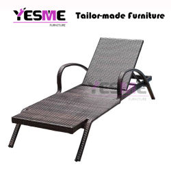 Hot Selling Outdoor Beach Furniture/Wicker Lounge Rattan Lounge Outdoor Sunlounger