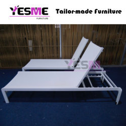 High Quality Outdoor Aluminum Sun Lounger and Sunbed