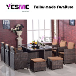 Modern Dining Sofa Set Hotel Garden Rattan Outdoor Furniture Can Be Combined Sofa Set