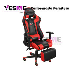 Black and Red Racing Gaming Chair Office Desk Executive Recliner Gamer High Back Office Furniture Chair