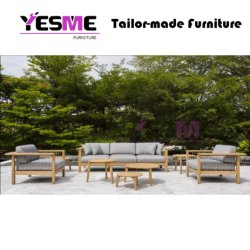 Home Furniture Garden Furniture Hotel Furniture Wooden Outdoor Furniture Sofa Set for Teak Furniture
