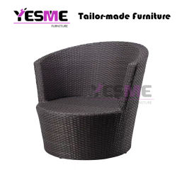 High Quality Garden Patio Furniture Round Rattan Sofa