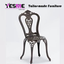 Yesme Patio Cast Aluminum Furniture Backyard Furniture Outdoor Furniture