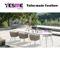 Outdoor Furniture Leisure Garden Furniture Hotel Living Area Table and Chair