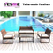 New Design Hot Selling Outdoor Beach Furniture/Wicker Lounge Rattan Sofa